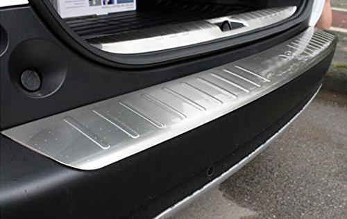 Au/ßen Sto/ßstange hinten Displayschutzfolie ladekantenabdeckung Trim 2 F/ür Peugeot 2008 2014 2015 2016 Edelstahl Innen