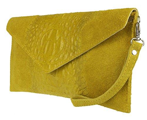 Girly HandbagsPatrizia - Bolsa mujer amarillo