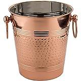 "Old Dutch ""Fez"" Decor Copper Hammered Wine Cooler, Copper"