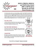 Stargazer SMD to DIP Breakout for