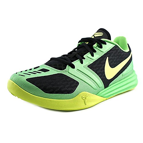 Nike Men's Kobe Mentality Black/Volt-Poison Green Ankle-High Basketball Shoe - 11.5M -  704942-001
