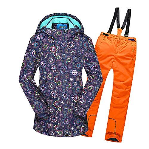 Lovescenario Keep Warm Boys/Girls Ski Suit Waterproof Pants+Jacket Set Winter Sports Thickened Clothes Children's Kids Ski Suits