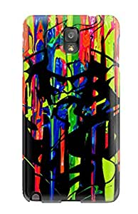Cute Tpu ZippyDoritEduard Abstract Painting Case Cover For Galaxy Note 3