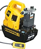 Enerpac ZU4408SB Universal Electric Pump with VE43 Solenoid Valve Liquid Crystal Display 115 Volts and 8 Liters Usable Oil Capacity