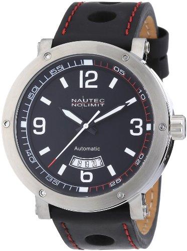 Nautec No Limit Men's Shamal Watch SM AT/LTSTBK-RD