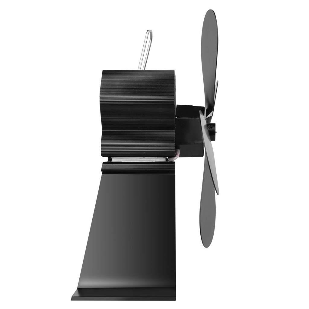 MENTIN Ventilador para a Poele y madera - calor alimentado Estufa Ventilador - para sartenes para madera y Chimeneas - Alimentado por la calor - Pas de ...