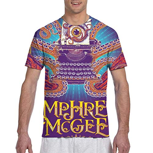 DoohcwBDJ Mens Umphrey's McGee Personalized Double-Sided 3D Print Classic Short Sleeve T Shirt S ()