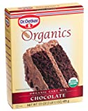 Dr. Oetker Organic Chocolate Cake Mix, 17.1-Ounce Unit (Pack of 4)