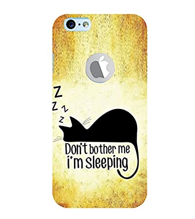 Fiobs Dont Bother Me Am Sleeping Cat Quotes Amazonin Electronics