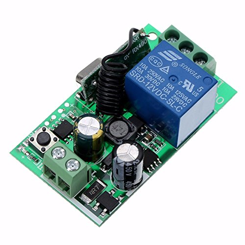 MIMI New 1CH Mayitr Channel Wireless Relay Remote Control Switch Heterodyne Receiver 220V 10A 315MHZ NEW PRODUCT