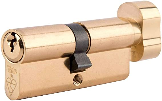 Yale Anti-Bump 40 50 Euro Cylinder Lock uPVC Timber Door Barrel Keyed Alike