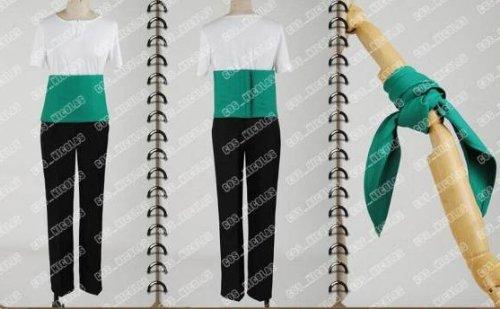 高品質コスプレ衣装 ONE PIECE ワンピース ロロノア ゾロ  コスチューム、コスプレ