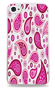 Wild Daisy Phone Case Skin Cover Black Silicone Case for iPhone 5 / 5S