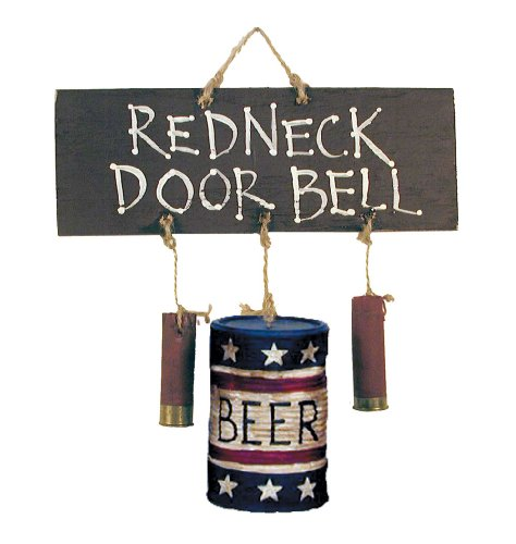 (Ohio Wholesale Redneck Doorbell Wall Art, from our Humor Collection (34587))