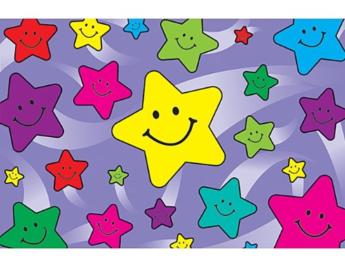 Teacher Created Resources Happy Stars Postcards (1972)