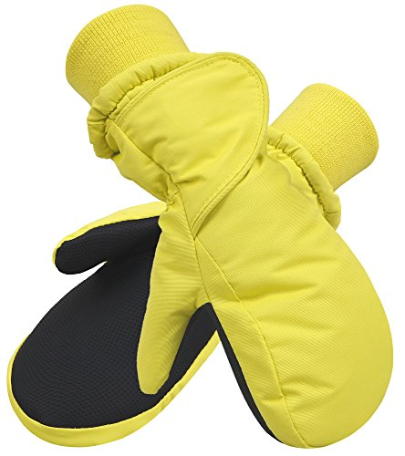 Large Product Image of SimpliKids Children's Snow Sports Thinsulate Lined Waterproof Winter Mittens