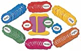 Jolly Phonics Trick Word Wall Flowers: In Print Letters