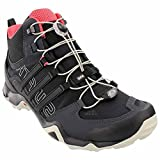 adidas outdoor Women's Terrex Swift R Mid GTX W Shoes, Dark Grey/Black/Super Blush, 5 B(M) US