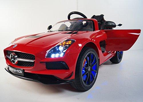 MERCEDES-BENZ Ride on car MERCEDES licensed. MP4 LCD disp...