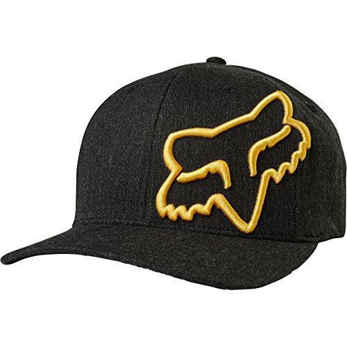 Fox Men's Clouded Flexfit HAT, Black, L/XL