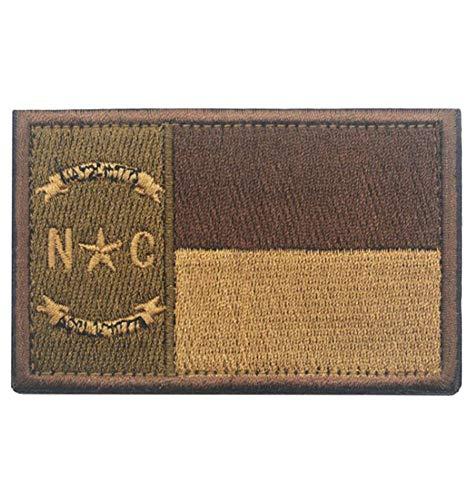 QTao UPA130a USA North Carolina Flag Patch 1 PCS (Color 2) (North Carolina Pc)