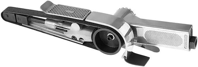130L//min Pneumatic Air Belt Sander,Industrial Air Belt Sander Pneumatic Polishing Tool 16000rpm 10330mm//20520mm