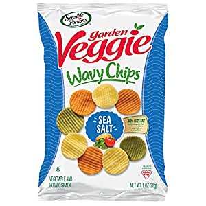 Sensible Portions Garden Veggie Chips Sea Salt 1 Oz Bag Pack Of 24