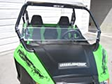 Arctic Cat Wildcat (Trail/Sport Only) 12'' Tall Half WindshieldTallest on the market (we make shorter upon request let us know at time of order). Made in America
