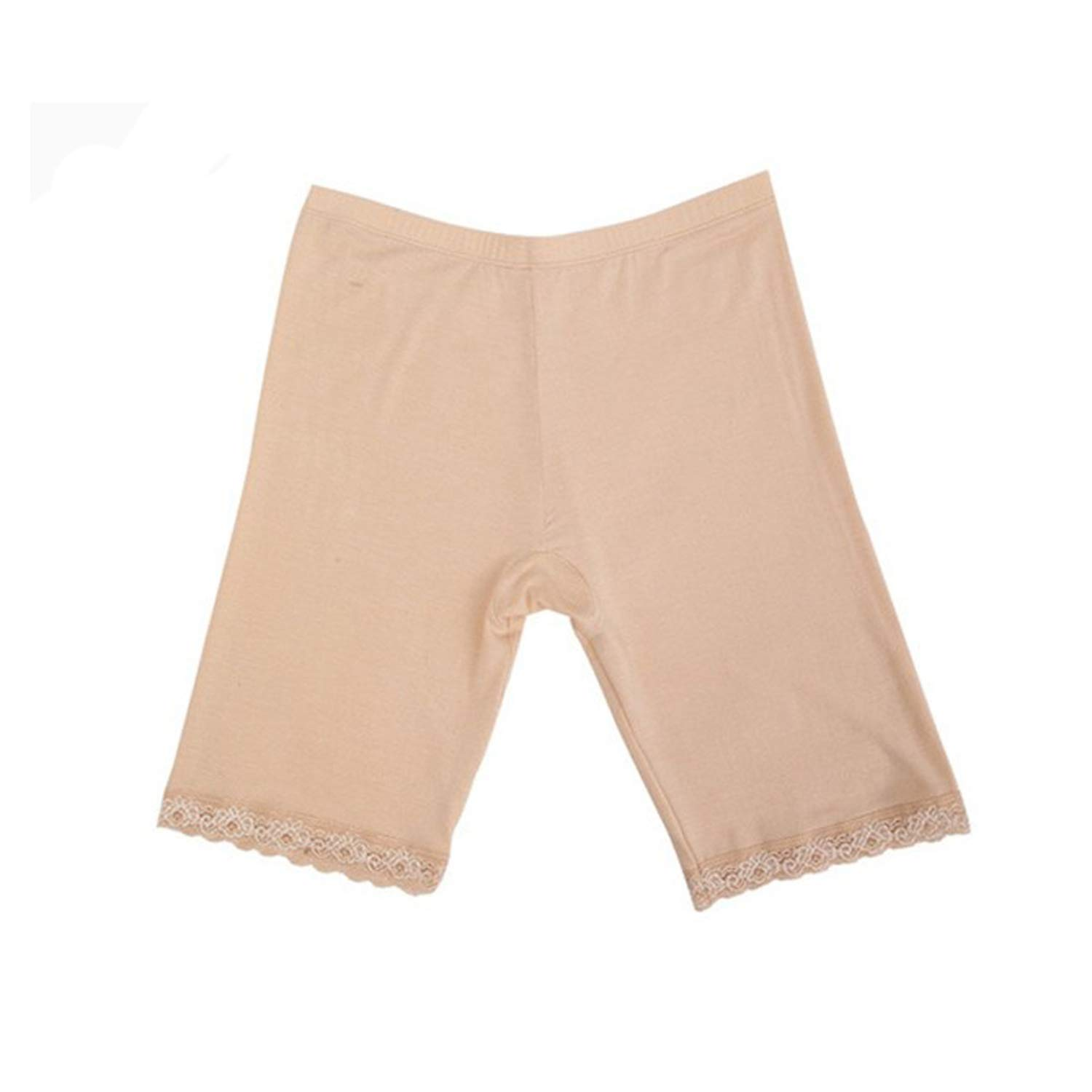 2 Pcs Safety Boxer Panties Pants with Lace for Women Summer Underwear Thin Inner Boxer Shorts Plus Size
