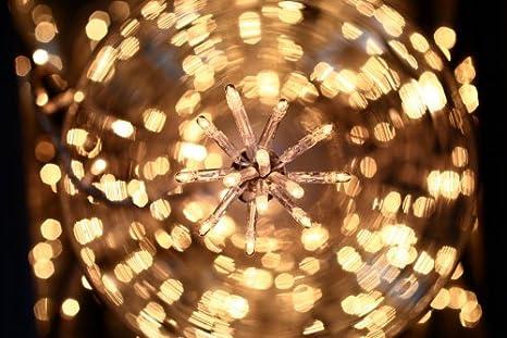 Deco noel guirlande lumineuse 80 lucioles blanches 4 mètres déclairage lumière clignotante
