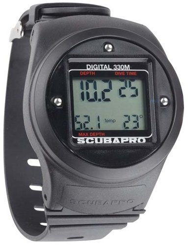 ScubaPro Wrist Mount Imperial Digital Depth Gauge