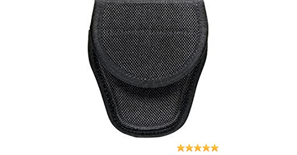 Bianchi 23013 Black 7300 AccuMold 2 Hidden Covered Handcuff Cuff Case
