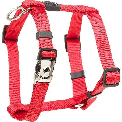 Petmate 10239 Signature Deluxe Harness, 3/4-Inch by 20-28-Inch, Fire