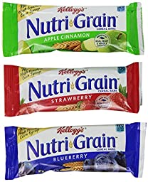 Kellogg\'s Nutri-Grain Cereal Bars Display Assortment (1.3 Ounce, 48-Count)