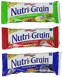Kellogg\'s Nutri-Grain Cereal Bars Display Assortment (1.3 Ounce, 48-Count)