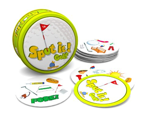 Blue Orange Spot It Golf Card Game