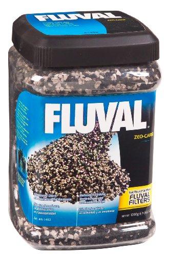 Fluval Hagen Remover Ammonia (A1492 Fluval Zeo-Carb 42-Ounce Jar, 1200-Gram)