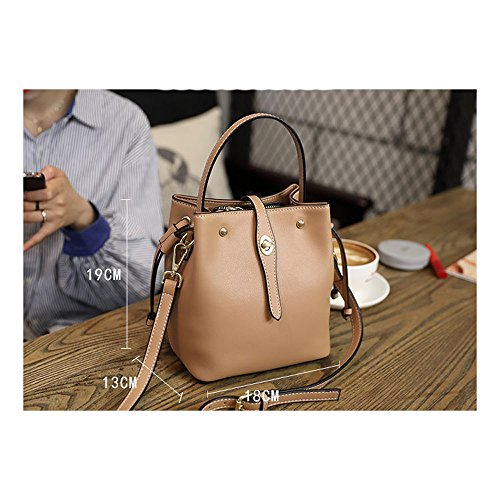 Small Shoulder Bags Handbags Bag Bag Bag Handbag ZQ Bucket Leather Female Messenger 4Ogp4rq