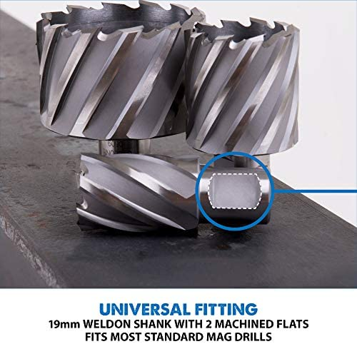Evolution Power Tools Long Series Broaching Cutter, 50 x 50 mm