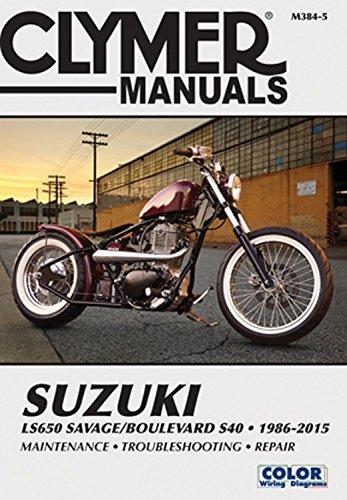 Suzuki LS650 Savage/Boulevard S40 1986-2015 (Clymer Manuals) ()