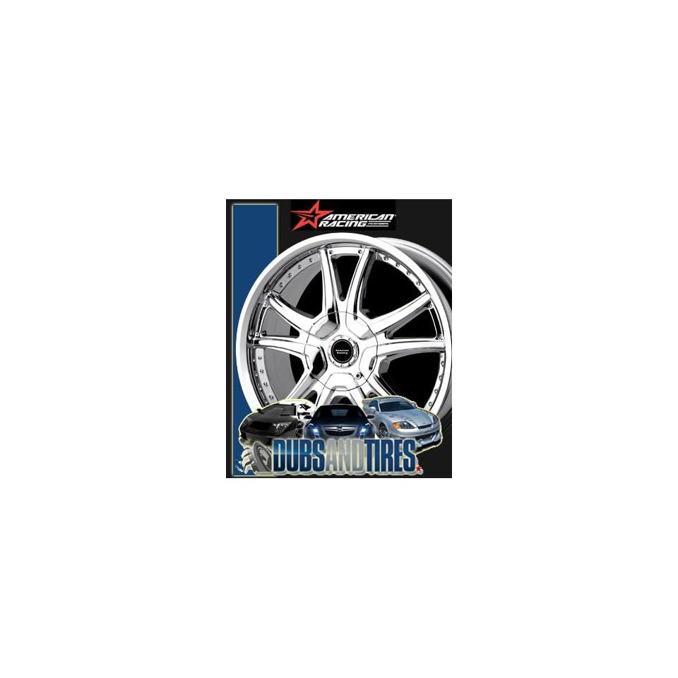 16 Inch 16x7 AMERICAN RACING PERFORM wheels ALERT Chrome wheels rims