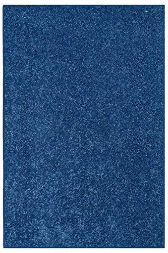 New Shag Collection Solid Color Royal 4 x6 – Area Rug