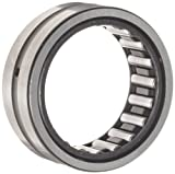 INA NK24/20 Needle Roller Bearing, Outer Ring and Roller, Steel Cage, Open End, Oil Hole, Metric, 24mm ID, 32mm OD, 20mm Width, 18000rpm Maximum Rotational Speed