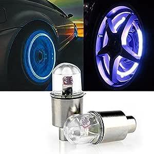 Premium Quality 4X Bike Car Motorcycle Wheel Tire Tyre Valve Cap Neon LED Flash Light Lamp hot fast-shop