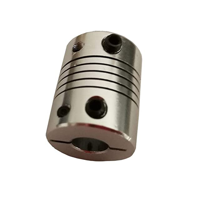 WNJ-Tool, Impresora 4pcs D20L25 4x4mm Aluminio Z Eje Flexible ...