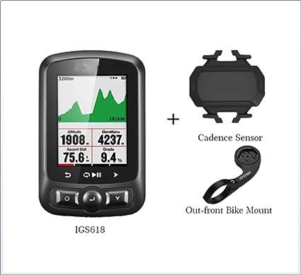 WANGYONGQI Ant + GPS Ordenador Bicicleta IGS618E Bluetooth ...