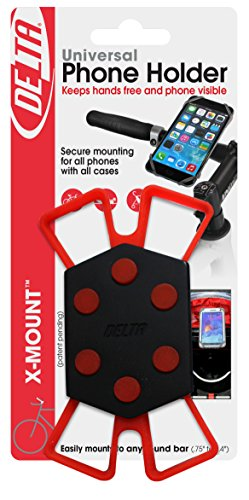 Delta Cycle x Mount Bike Phone Holder Caddy Case iPhone Samsung Android by Delta Cycle