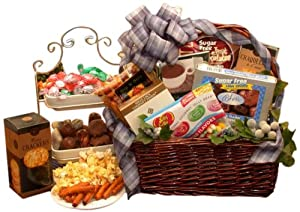 Organic Stores Diabetic Sugar Free Gourmet Gift Basket: Amazon.co ...