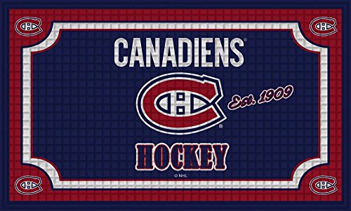Team Sports America Montreal Canadiens Embossed Floor Mat, 18 x 30 - Shop Hat Montreal