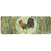 Bacova Guild 78704 Standsoft Rooster Strut Anti-Fatigue Skid-Resistant Memory Foam Mat, 55 x 20